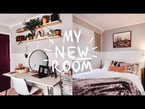 EXTREME BEDROOM MAKEOVER / TRANSFORMATION + ROOM TOUR 2019! (Aesthetic + Vsco Inspired Room Decor)