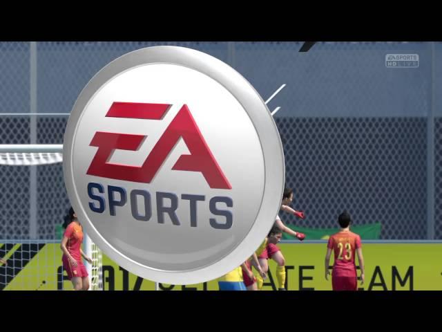 FIFA 17 PS4 - Brasil x China - Feminina