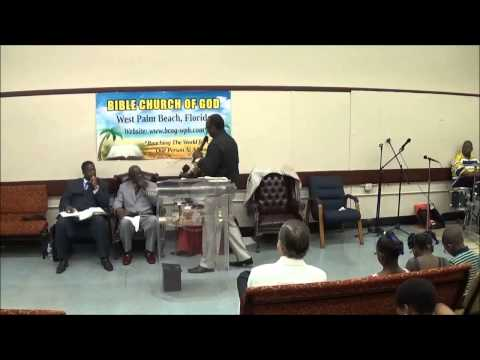Bishop Gerald Banks 1st Sunday Sermon