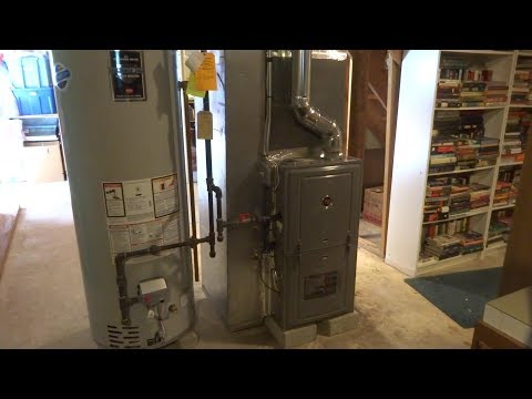 HVAC gas furnace  AC upgrade part 1of 2