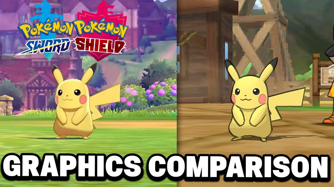 Pokemon Sword Shield Graphics Comparison Discussion Are They
