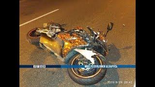 Байкер на Honda насмерть разбился в Новополоцке