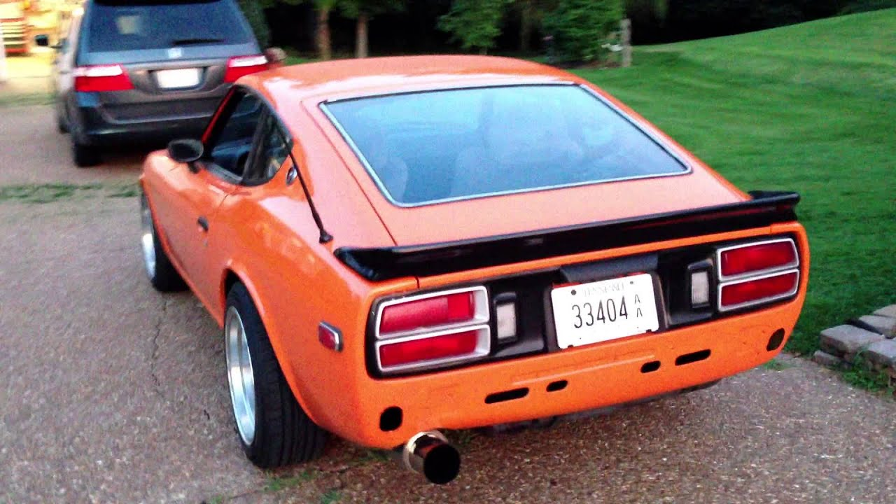 1975 datsun 280z turbocharged part 1 youtube