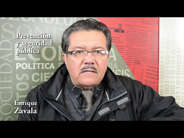 Enrique Zavala (Tráfico de armas vital para la seguridad nacional)
