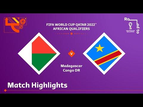 Madagascar D.R. Congo Goals And Highlights