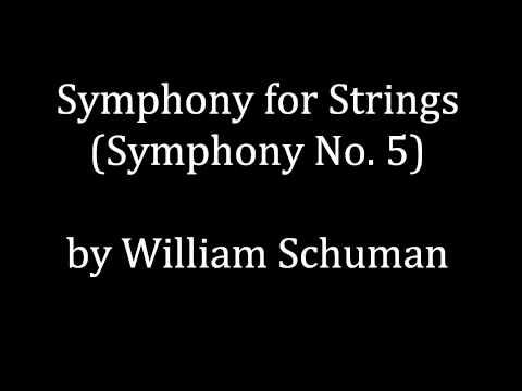 William Schuman - Symphony No. 5