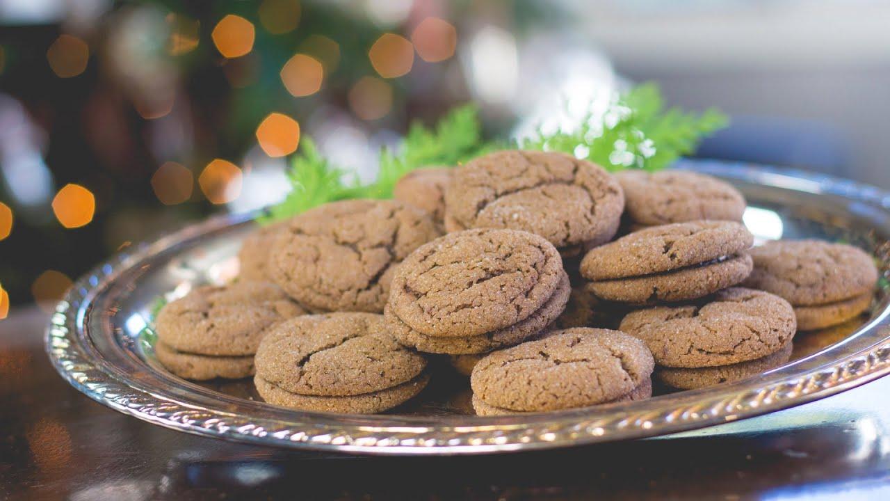 Chocolate Thin Mint Christmas Cookies Christmas Cookie Countdown