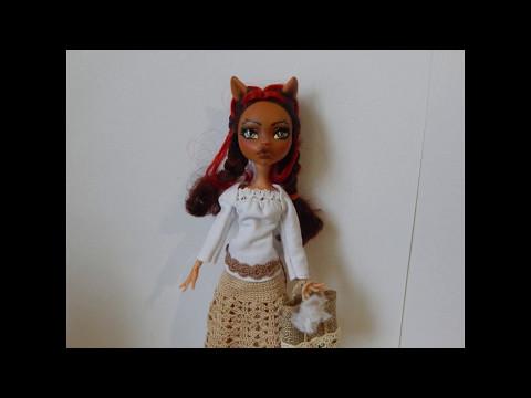 МК:Как сделать летние сумки для кукол.