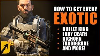 How to Get Every Division 2 Warlords of New York Exotic (Bullet King, Lady Death, & More)