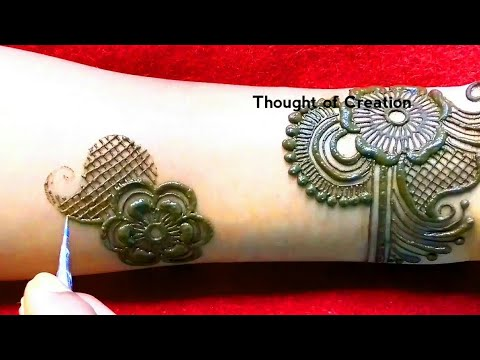 Latest New Stylish Arabic Mehndi Design for Hands |Thought of Creation