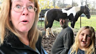 Taking My New Horse Back! Sam Is Not Impressed! Day 294 (10/25/20)