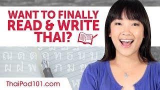 Learn Thai Alphabet - How to Read and Write Thai