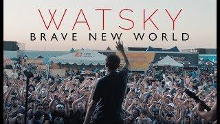 """Watsky - """"Brave New World"""" LIVE! Vans Warped Tour 2017"""