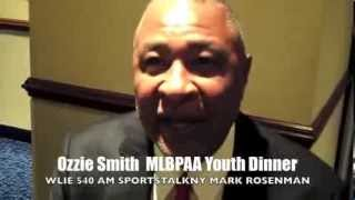 Ozzie Smith/14TH Annual MLBPAA Youth Dinner