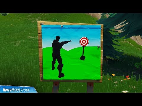 Fortnite Battle Royale - All Shooting Galleries Locations Guide (Season 6 Challenge)