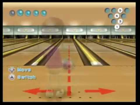 Wii Sports Bowling Picking Up Spares Platinum Youtube