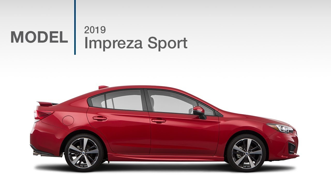 2019 Subaru Impreza Sport | Model Review