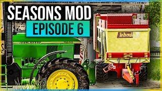 SEASONS MOD #6 | GROS ÉPANDAGE DE FUMIER ET LISIER ! (Farming Simulator 19)