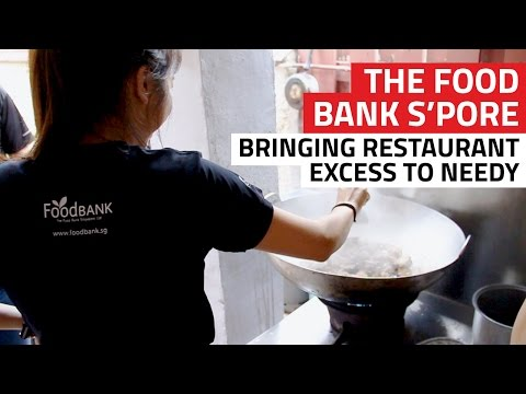 The Food Bank Singapore: Bringing restaurant excess to needy