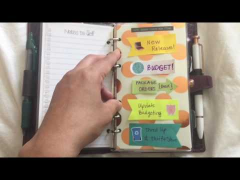 How to Get Started with Functional Planning in a Personal Planner - Filofax, Michaels, Kikki K