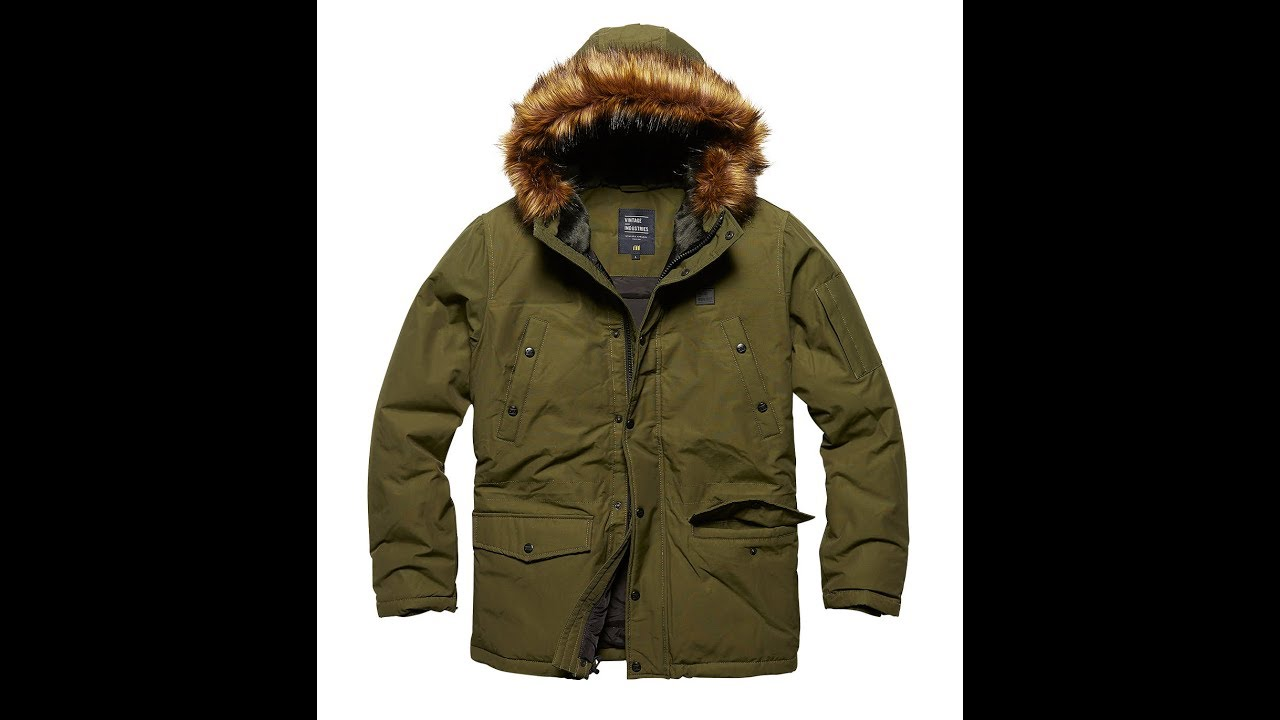 2dc5c309 Circle parka olive - Vintage Industries - Арт.2202 - YouTube