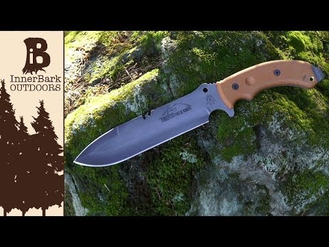 Andy Tran's Multifunctional Tahoma Field Knife Design