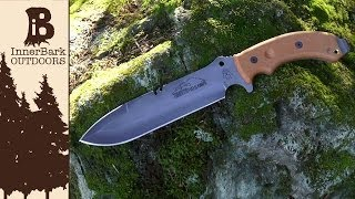 TOPS Tahoma Field Knife Features and Specifications Overview