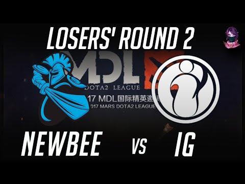 NewBee vs iG MDL 2017 Mars Dota 2 League 2017 Highlights by Time 2 Dota #dota2