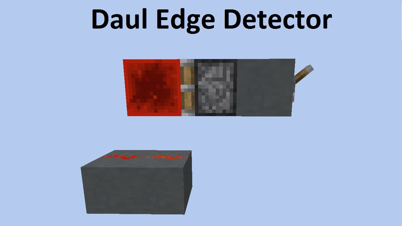 Dual Edge Detector Circuit Wiring Diagram Services Dark Minecraft Redstone Youtube Rh Com Light