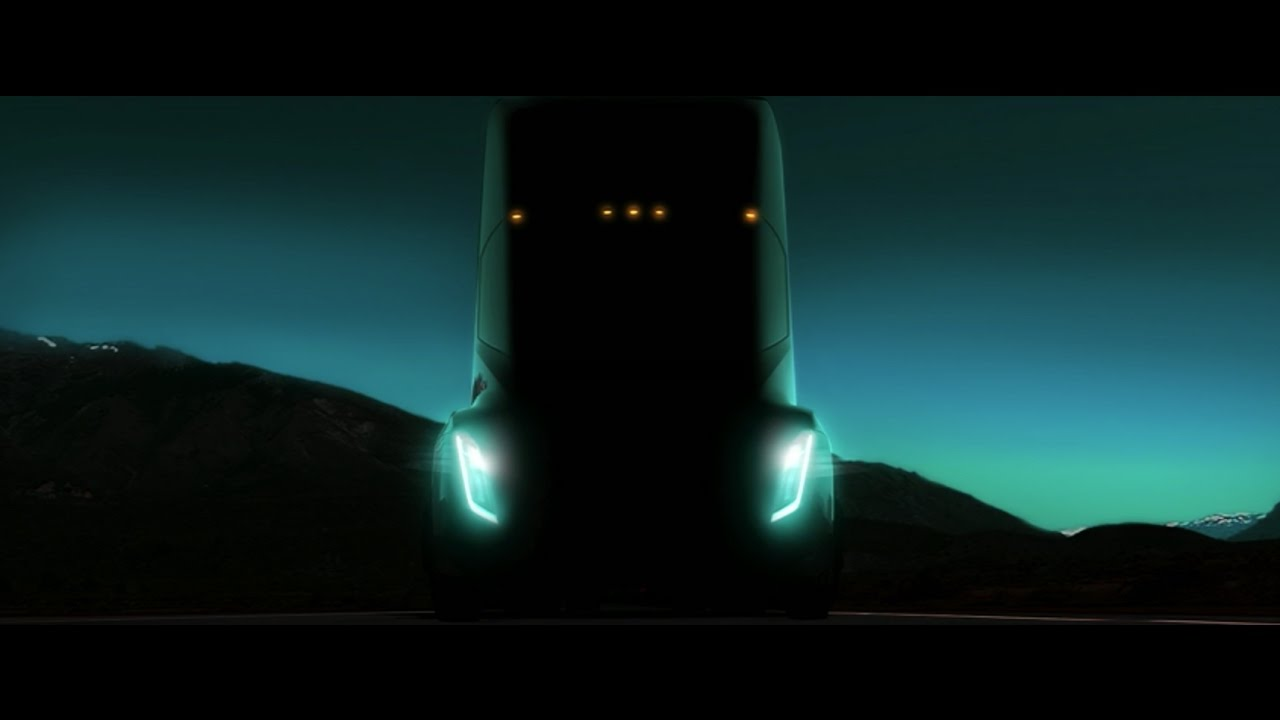 How to watch Elon Musk unveil Tesla's electric semi truck