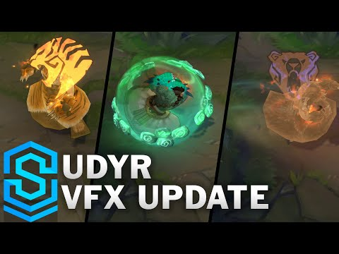 Udyr Visual Effect Update Comparison - All Affected Skins | League Of Legends