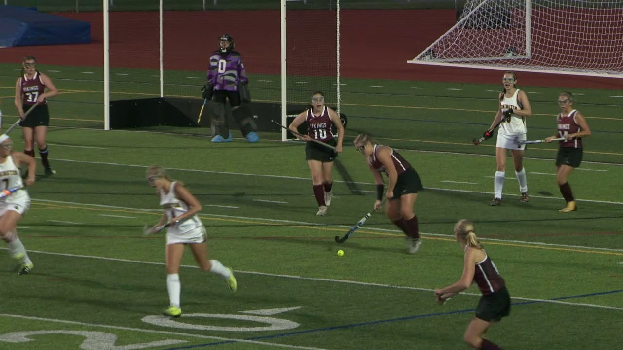 Full Field Hockey Game Stonington 5 East Lyme 2