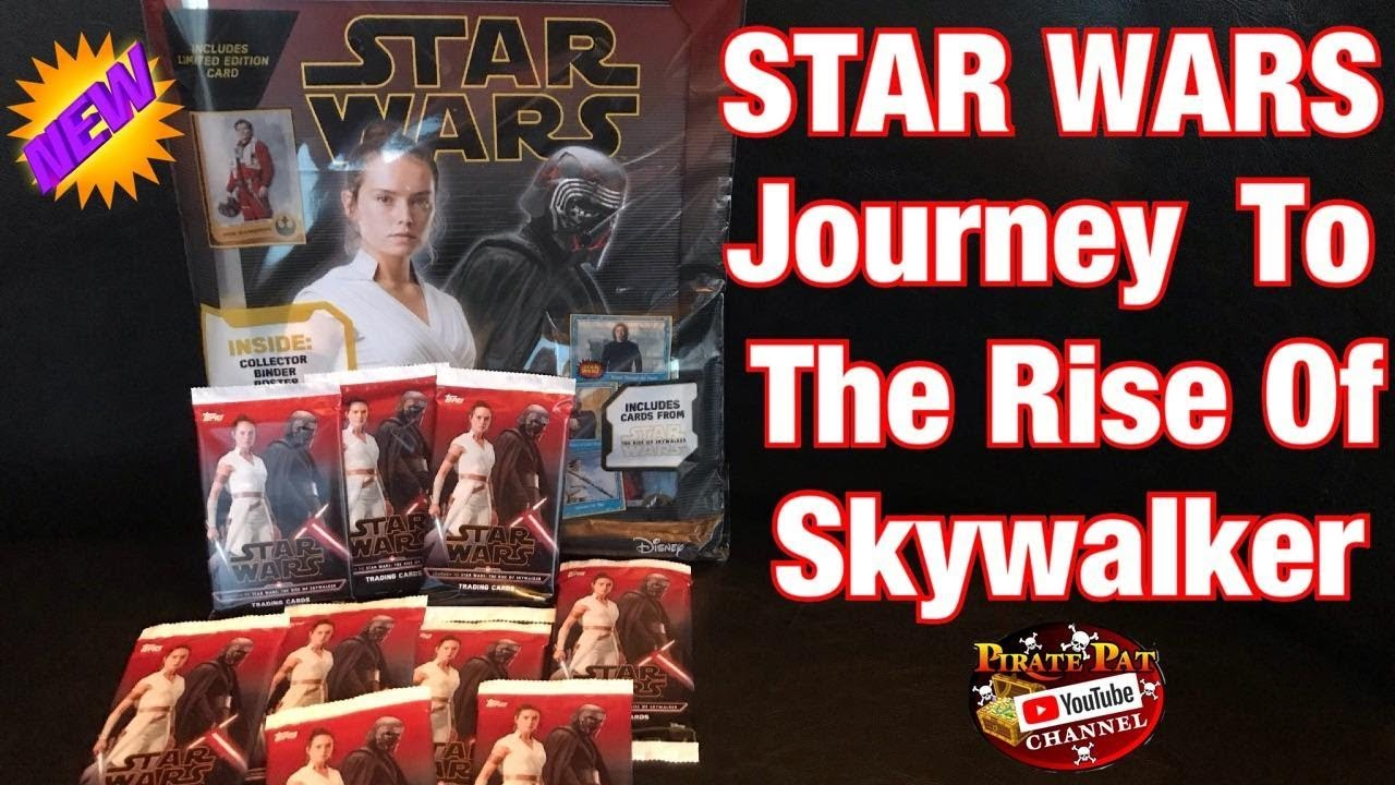 Topps Star Wars Journey To The Rise Of Skywalker Trading Card Starter Pack Packs Opening Youtube