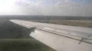Memphis Landing: Northwest Airlines McDonnell Douglas DC-9-51-Great engine sound!