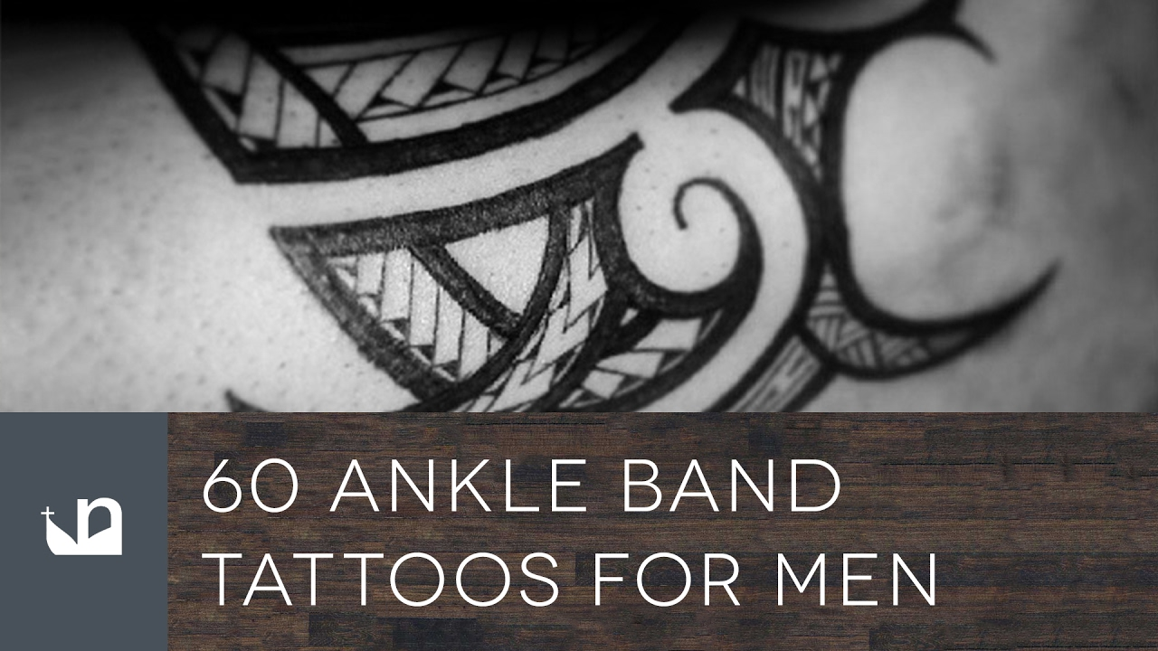 78d1367ceb3bf 60 Ankle Band Tattoos For Men - YouTube