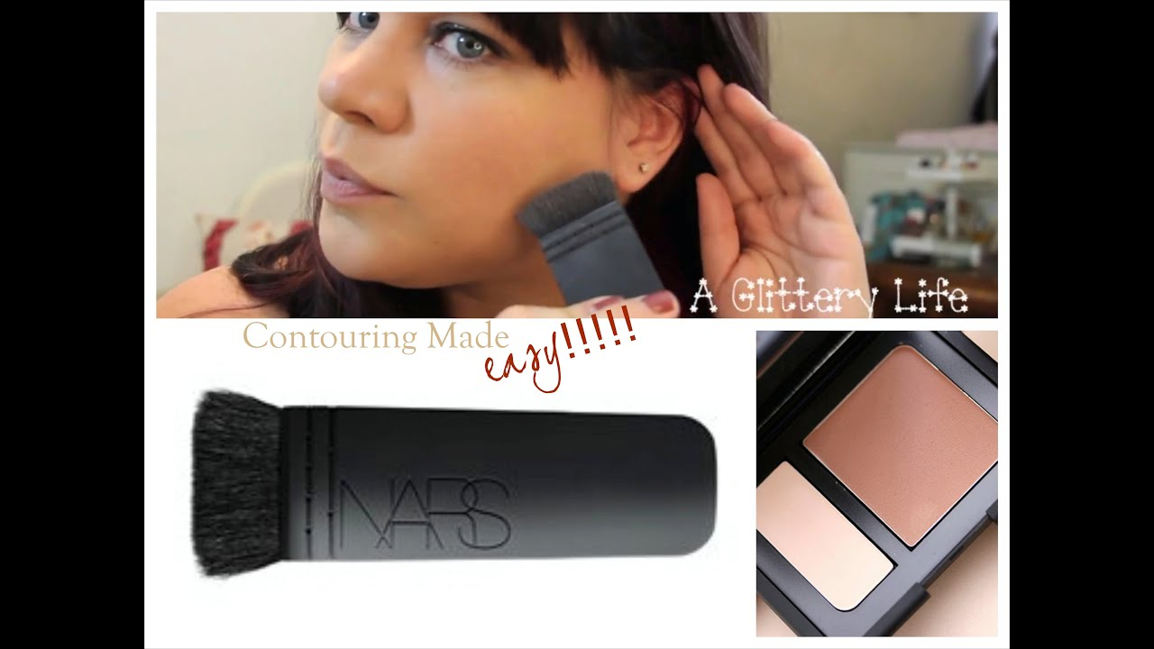 How To Contour And Highlight The Easy Way!! Featuring Nars Ita And Nars  Paloma!