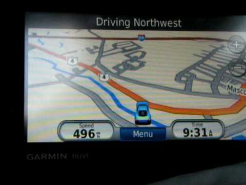 Using My Car GPS On A Plane