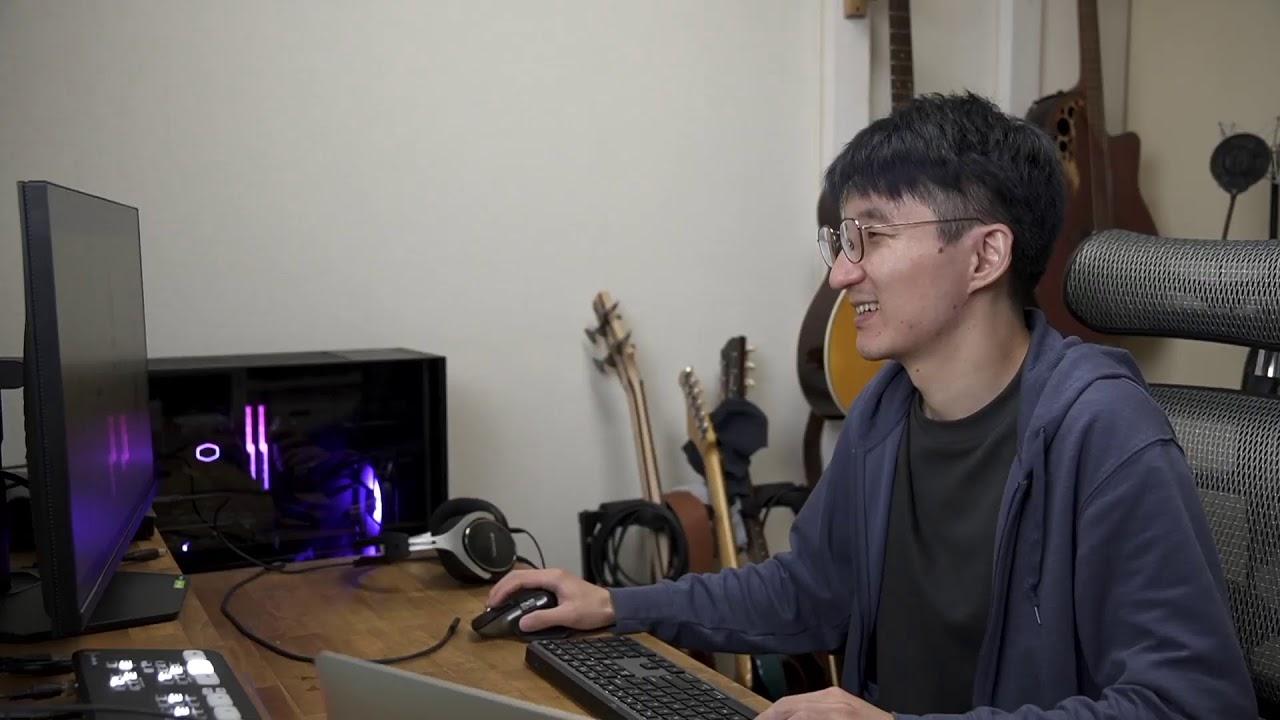 【自作PC完成】Windowsのセットアップ&光るキーボードを買う配信