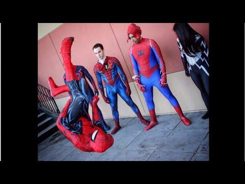 WebCheck SpiderMan Webster Flips in Public