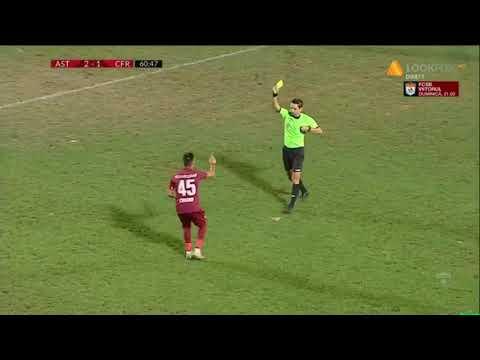 Rezumat: Astra Giurgiu - CFR Cluj 3 - 2 | Meci tensionat la Giurgiu | Etapa 8