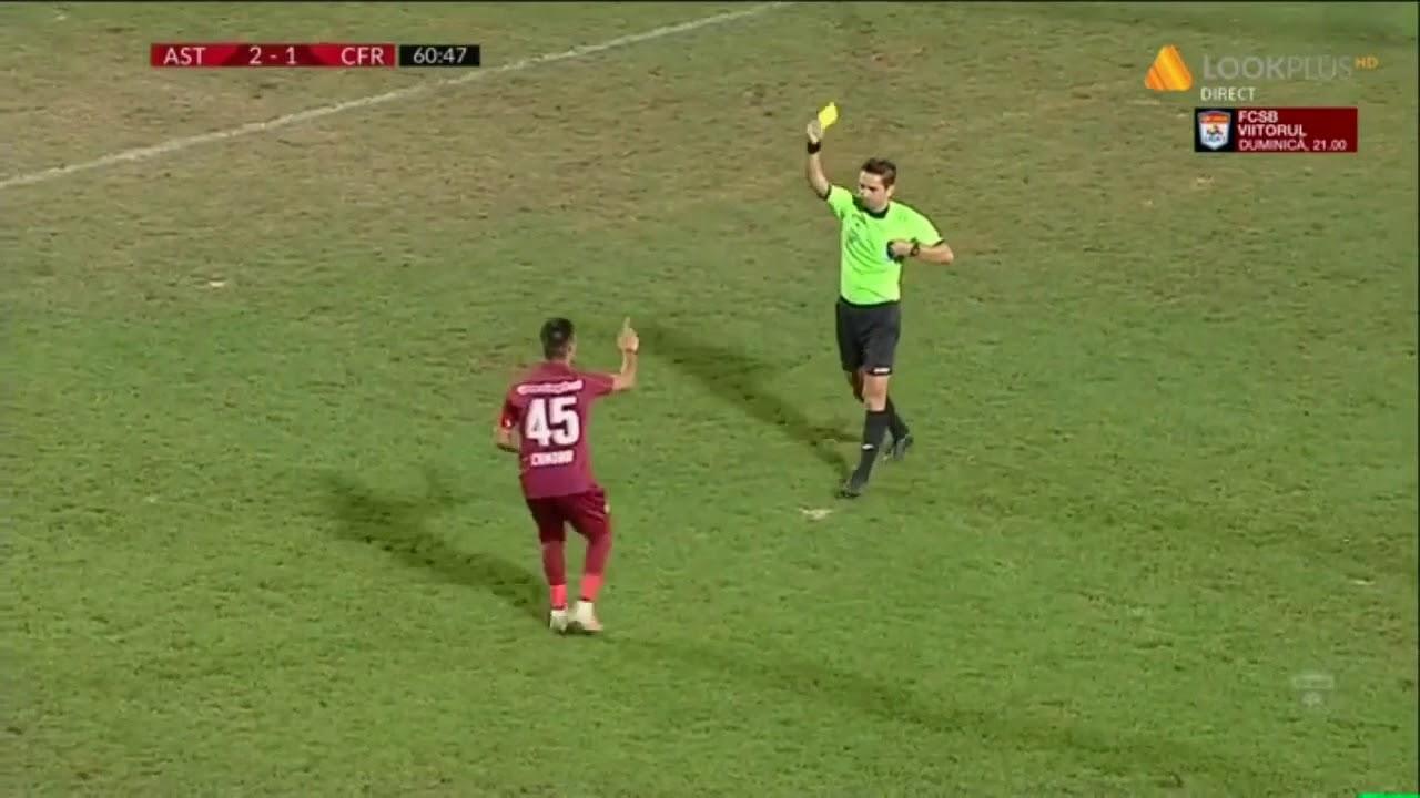 Rezumat: Astra Giurgiu - CFR Cluj 3 - 2   Meci tensionat la Giurgiu   Etapa 8