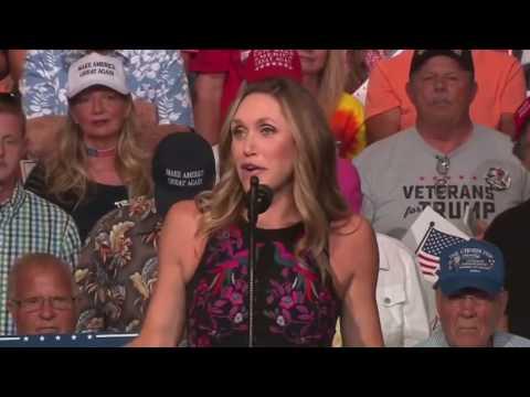 AMAZING: Lara Trump Speech at President Donald Trump Rally in West Virginia, Huntington