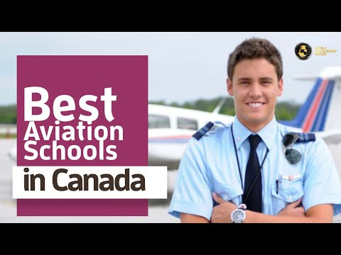 Best Aviation Schools In Canada