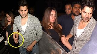 Varun Dhawan Spotted Holding Girlfriend Natasha Dalal