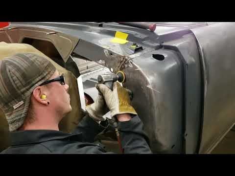 Part 18 Of Metalworks ProTouring 1955 Chevy Build. Joe Hand Builds A Custom Firewall.