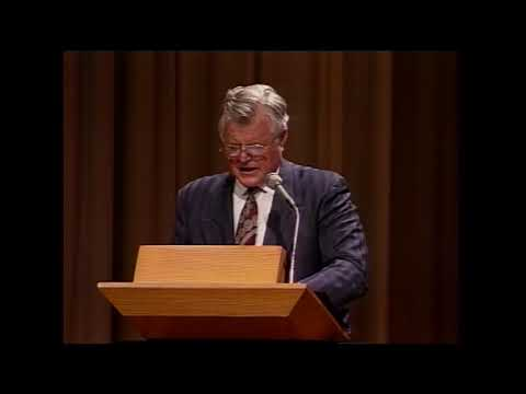 1993 Office of the Arts Conference - Mandate for a Federal Art Agency - Ted Kennedy & Robert Hughes