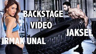 Irmak Unal & Jaksel WomensFitness Video Backstage