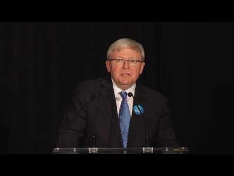 Kevin Rudd at World Bank Water Week 2017