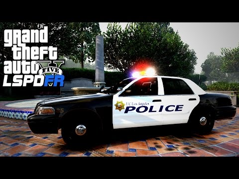 GTA V LSPDFR #84 University of California Los Angeles Police Patrol