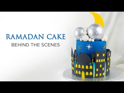 Behind the Scenes | EPIC Ramadan Cake Compilation